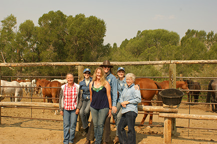 Healing Horses at Bitterroot Ranch - July 2012