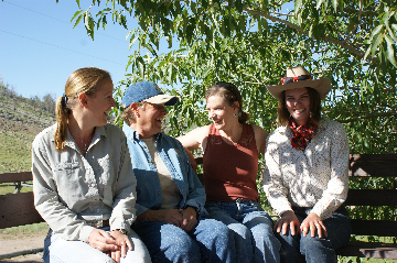 Healing Horses at Bitterroot Ranch - July 2010