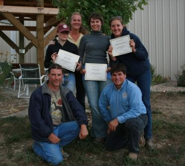 2009 Foundation Course Graduates