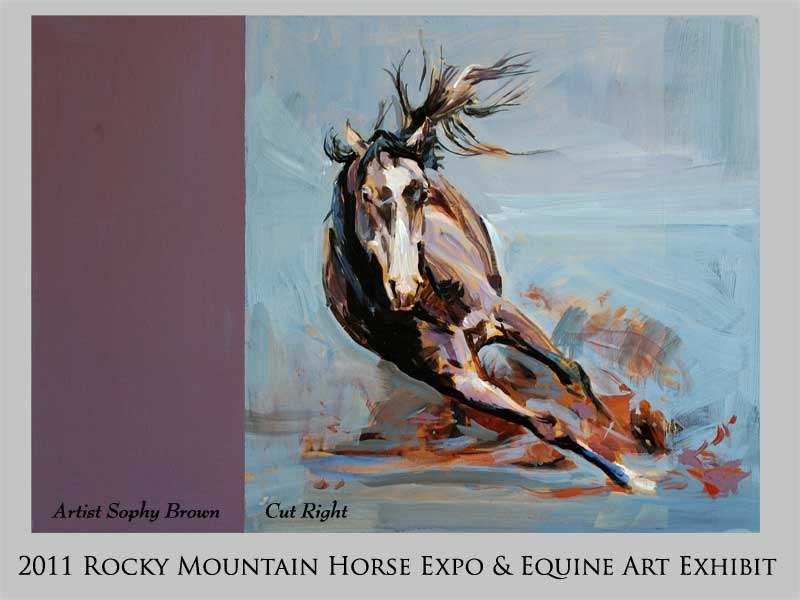 Rocky Mountain Horse Expo - March 2011